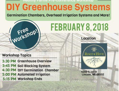 DIY Greenhouse Workshop Set for Thursday