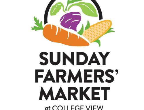 Sunday Farmers' Market at College View to start Sunday.