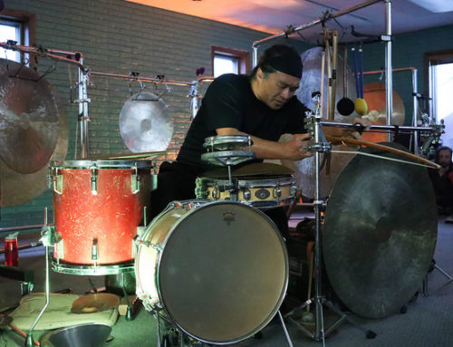 Sound artist Tatsuya Nakatani's Gong Orchestra stops in Lincoln