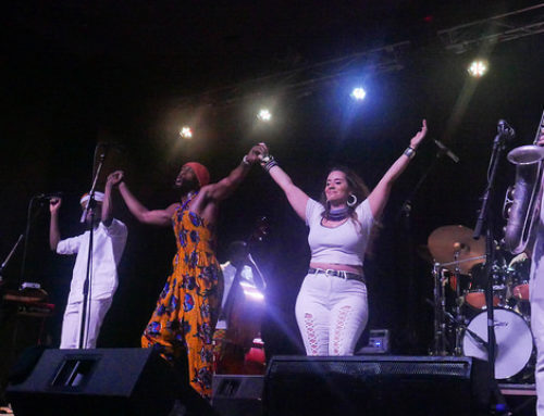Mwenso & the Shakes draws full house at indoor Jazz in June