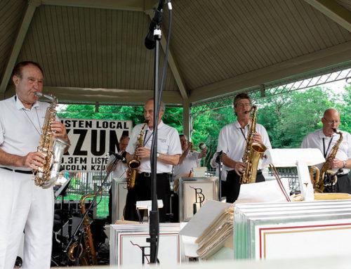 Photos: Bobby Layne Orchestra at KZUM Summer Concert Series   Stransky Park 7.5.18