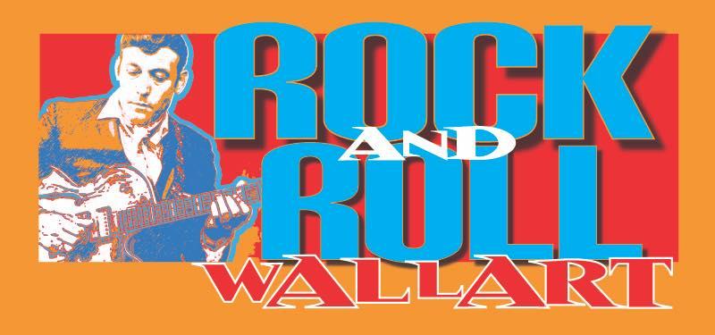 Rock & Roll Wall Art   First Friday at Six-16 - KZUM