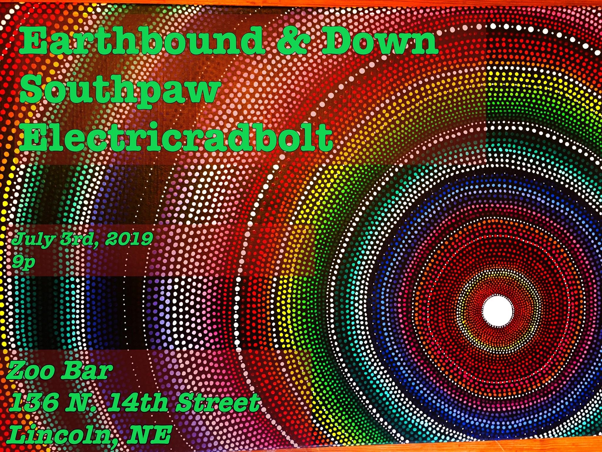 Earthbound & Down / Southpaw / Electricradbolt - KZUM 89 3